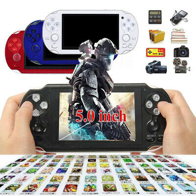 8GB 4.3'' 5.1'' Handheld PSP Game Console Player Built-in Game Portable Consoles