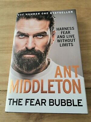 Signed Ant middleton book - The fear bubble