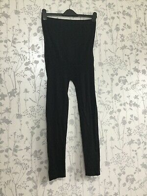 Ladies Size L/ XL Blooming Marvellous Black Maternity Leggings Opaque BNWOT