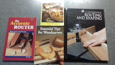 Woodcarving  wood router and how to make woodwork jig books