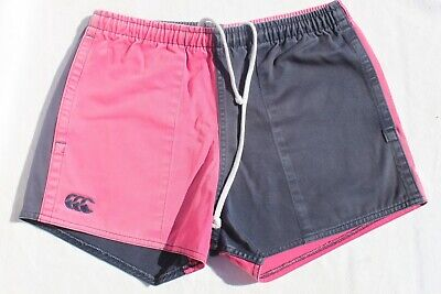 Canterbury Pink and Navy Blue Shorts (Size: Child's Unisex 30 Inches)