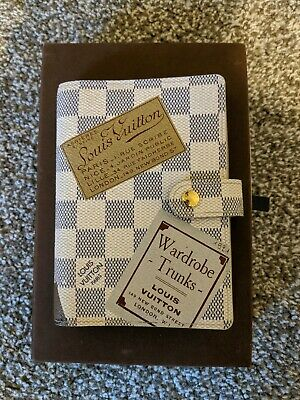 Louis Vuitton Agenda PM Damier Azur Trunks And Bags Limited Edition Small Ring