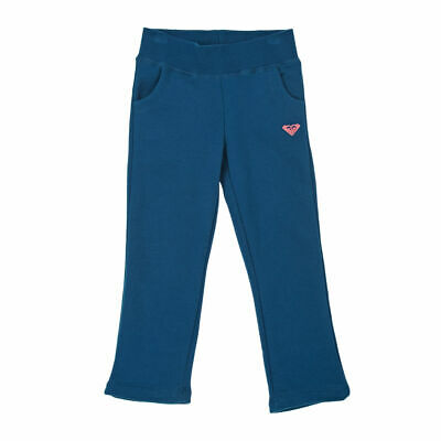 ROXY Girl Soft Tracksuit Jogging Bottoms Joggers, Ocean Blue, Age 7 Years