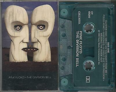 Pink Floyd - The Division Bell RARE BLUE TAPE 1994 Columbia Canada David Gilmour