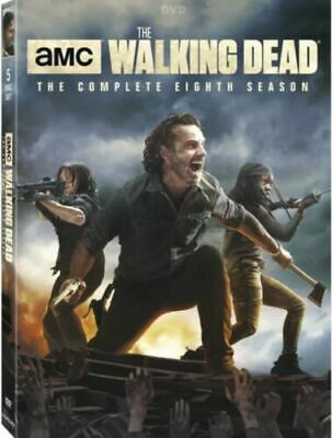 The Walking Dead: The Complete Eighth Season (DVD, 2018) w/slipcover