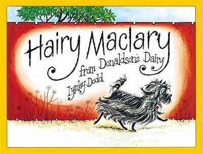 Hairy Maclary from Donaldson's Dairy by Lynley Dodd (English) Hardcover Book Fre