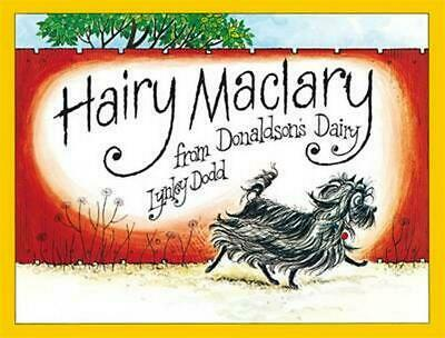Hairy Maclary from Donaldson's Dairy by Lynley Dodd Hardcover Book Free Shipping