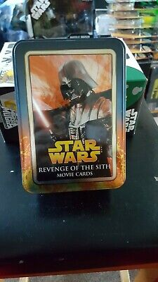 star wars revenge of the sith movie cards