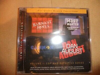 QUINN MARTIN COLLECTION Original TV soundtrack CD VOL 1 CANNON BARNABY JONES