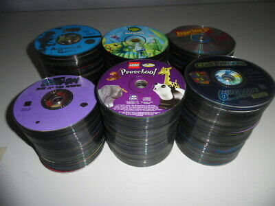 Lot Of 5 694 Pc Cd Dvd Computer Games From Ebay Store