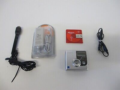 Sony HI-MD Portable MiniDisc Recorder Walkman MZ-NH900