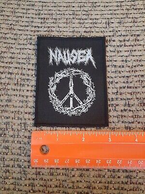 Nausea Rock Band Sew on Cloth Patch NEW