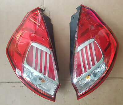 Ford Fiesta MK7 Rear Led Lights Complete With Bulbs