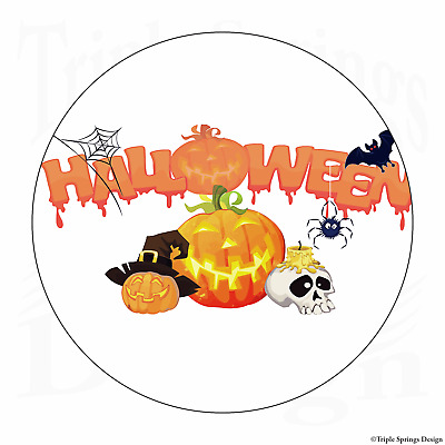 "60 Halloween Weird Creepy Owls Vinyl Envelope Seals Labels Stickers 1.2/"" Round."