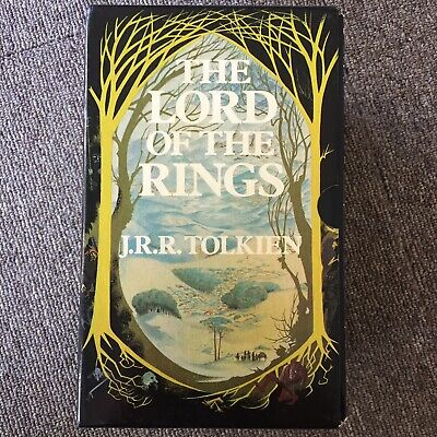 The Lord of the Rings by J. R. R. Tolkien 3 Book Box Set PB Vintage 1984 UK Ed