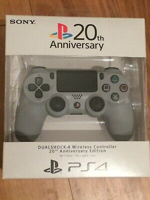 Playstation 4 Controller 20th Anniversary PS4 *Brand New & Sealed*