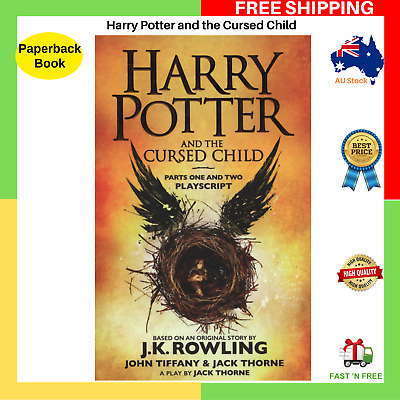 Harry Potter And The Cursed Child Parts One And Two Paperback Book BRAND NEW AU
