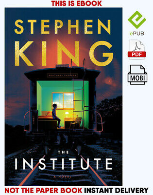 THE INSTITUTE by Stephen King AUDIOBOOK+E-BOOK 🎧📧(e-version)🔥