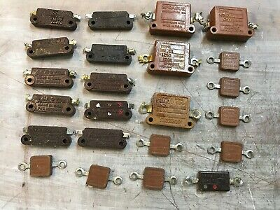 Lot Of Vintage Aerovox Sprague Mica Dubilier Capacitors Tube Ham Radio Stereo