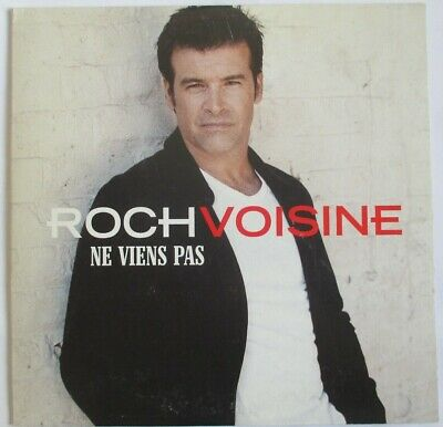"Roch Voisine - Cd Single Promo ""Ne Viens Pas"""