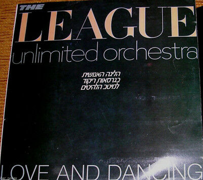 "The League Unlimited Orchestra ‎– Love And Dancing Rare 12""  Israeli LP ISRAEL"