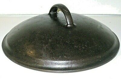 Vintage Heavy Cast Iron Skillet Frying Pan LID ONLY! marked # 8 GRISWOLD?