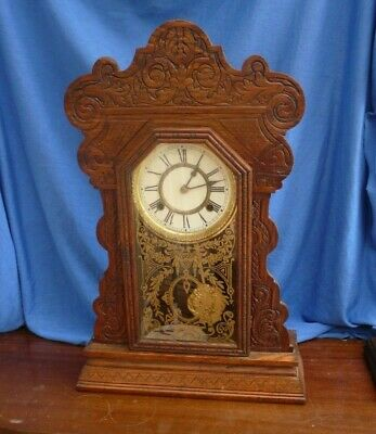 Waterbury Gingerbread Clock - Working order