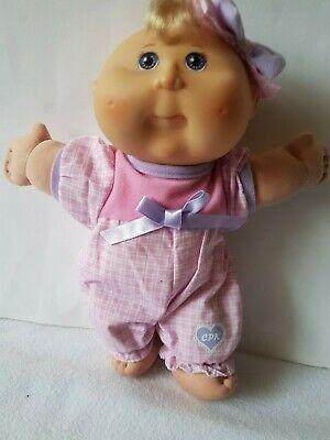 Cabbage Patch Kids Baby Doll ~ Original clothes and headband. Play Along 2004