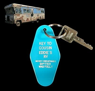 """""""KEY TO COUSIN EDDIE'S RV"""" Christmas Vacation KEY TAG, movie, Clark Griswold"""