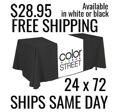 Color Street Table Runner 24 x 72 Free Same Day Shipping