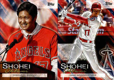 2019 Topps Update SHOHEI OHTANI Career Highlights Inserts - You Pick From A List