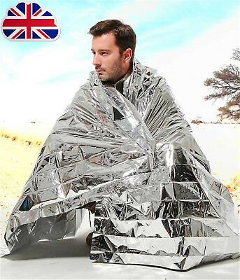 Emergency Foil Thermal Blanket Survival Baby Sensory First Aid Camping D2