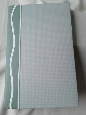 "Photo Album 348 Slip-in Pockets Hold photo up to 4""x6"" 3 Ring Binder green"