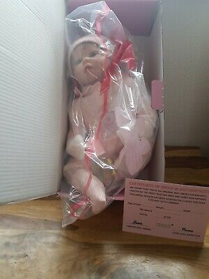 ZIYIUI 50cm Pinky Reborn  Dolls Realistic Silicone Handmade With Certificate NEW