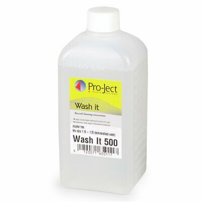 Pro-ject Wash It Cleaning Fluid for Record Cleaning Machine VC-S 500ml New