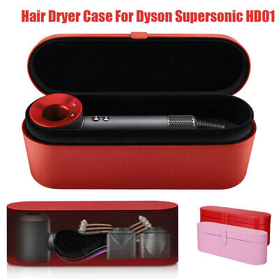 PU Leather Hair Dryer Case Travel Carry Storage Box For Dyson Supersonic HD01