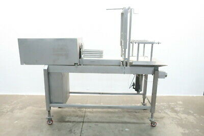 Johnson Industries Stainless Cheese Cutting Conveyor Assembly