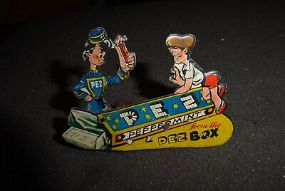 PEZ RARE LIMITED EDITION Vintage Advertising Clicker Lithographed Tin Clicker