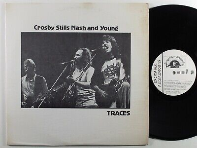 CROSBY STILLS NASH & YOUNG Traces IMPOSSIBLE 2XLP VG+/VG++