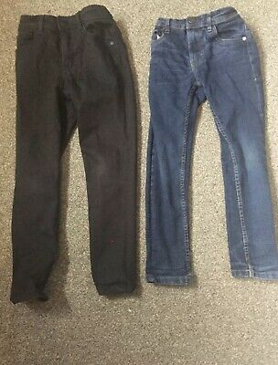 Next Jeans  And Chinos Boys  - 3 Pairs Aged 7 - Good Condition Christmas Outfit