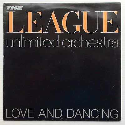The League Unlimited Orchestra  Love And Dancing UK LP