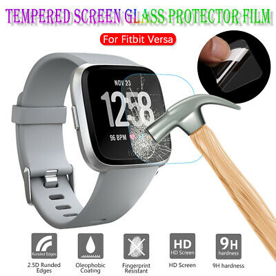 Tempered Glass Protective Film Screen Protectors Guard Cover For Fitbit Versa