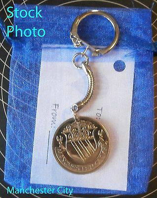 Manchester City FC FA Cup Football Keyring Gift unusual present Birthday ik