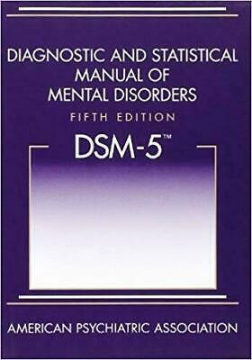 Diagnostic and Statistical Manual of Mental Disorders - DSM-5 [P.D.F]