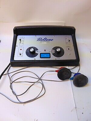 Beltone Model 109 Audiometer With Headphone Inserts S4489