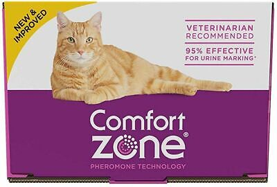 LM Comfort Zone Calming Diffuser Refills for Cats & Kittens 6 Count - (6 x 48 ml