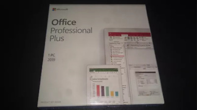 🔥Microsoft Office 2019 Professional Pro Plus Lifetime License Instant Delivery