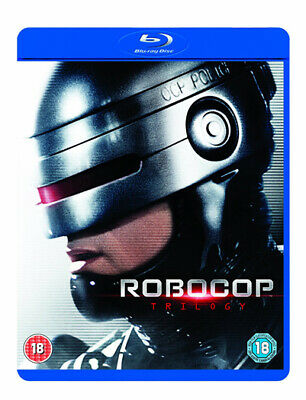 Robocop Trilogy Remastered Blu-Ray New Region B