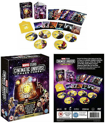 MARVEL STUDIOS COLLECTOR'S EDITION BOX SET PHASE 3 pt2 : 6 Movies R2 DVD