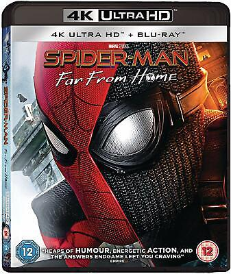 SPIDER-MAN: FAR FROM HOME (2019): Action, Adventure, Spiderman RgFree 4K+BLU-RAY